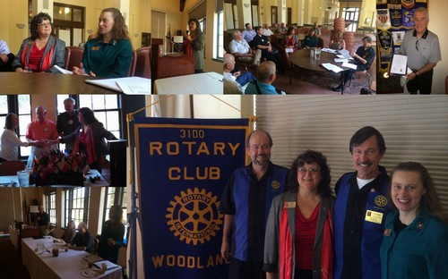 District Governor Pam Gray along with her husband Brian made her official visit with our Club today. DG Pam, along with Assistant DG Julia Larson (Sunrise Rotary), first me with the Club Board, and later spoke to the full Club during our regular meeting.