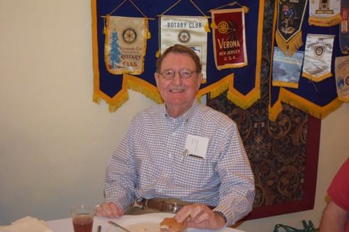 VISITING ROTARIAN - Charles Mack, Sunrise Rotary