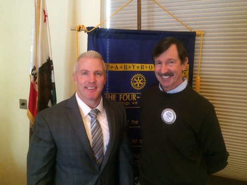 UPDATE ON LAW & ORDER - District Attorney Jeff Reisig was the guest speaker at today's meeting giving us a program on Crime Trends in Yolo County; a case review of The People v. William Gardner III; and Prop 47 impacts.