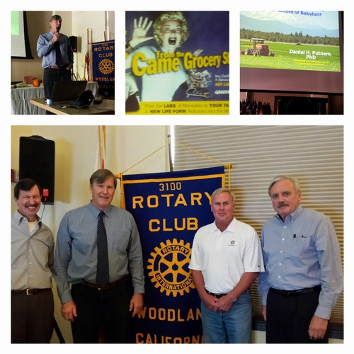 ALFALFA PROGRAM - Dr. Dan Putnam, Extension Agronomist with UC Davis, was our guest speaker today giving us a program on